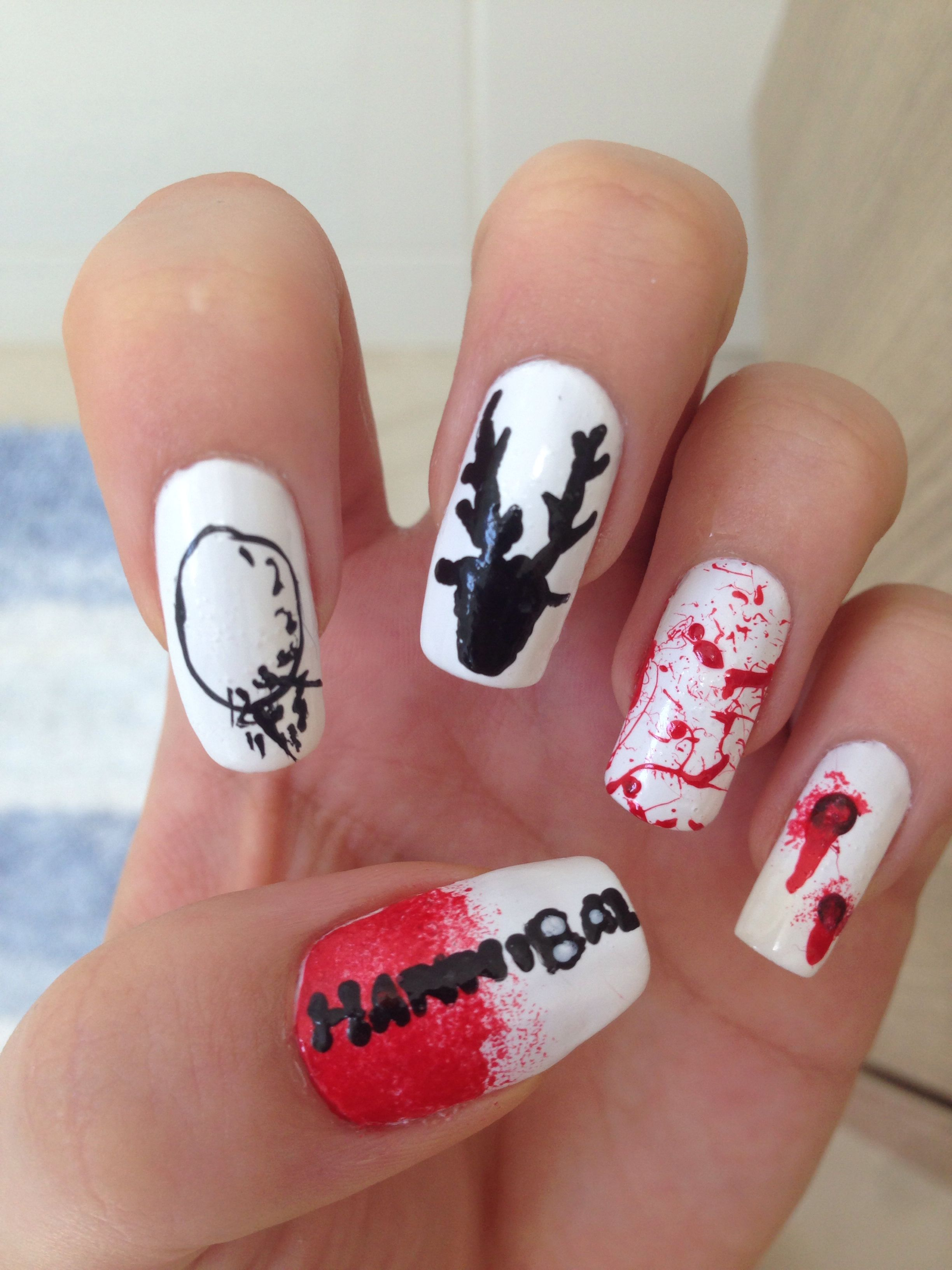 Hannibal nails | Nail art | Pinterest