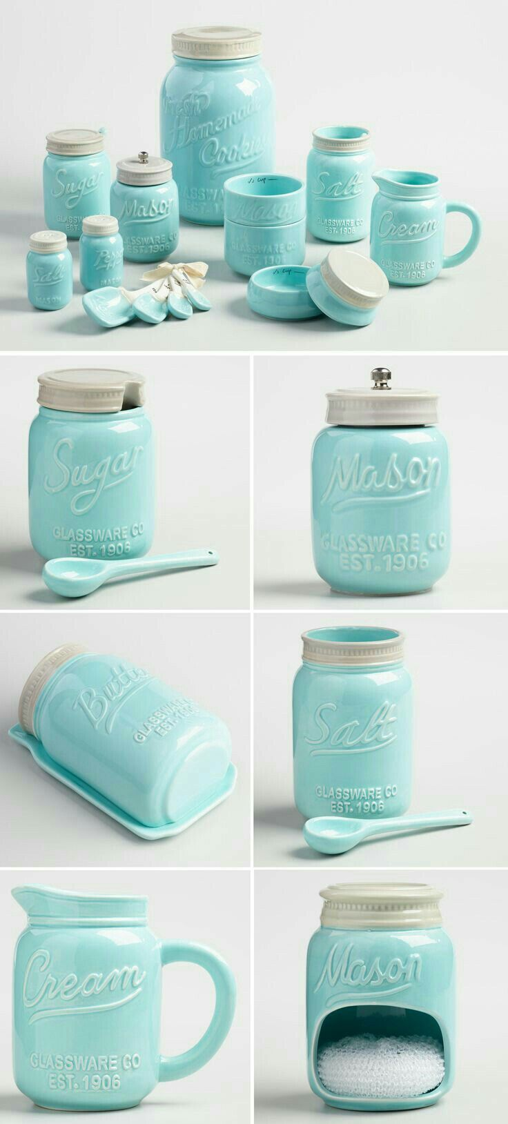Turquoise Kitchen Decor Island Ideas For Small Kitchens High Tech Gadgets New Home Sweet Mason Jar Cabinets Tags Decorations Walls Accessories