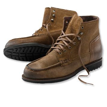 Orvis Churchill Vintage-Leather boots (not waterproof) | Men's ...