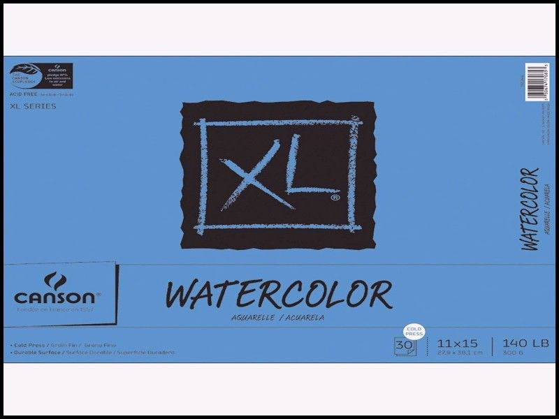 Elegant Canson Xl Black Drawing Pad