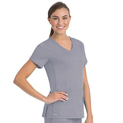 Amazon.com: Grey's Anatomy Active Women's Side Panel V ...