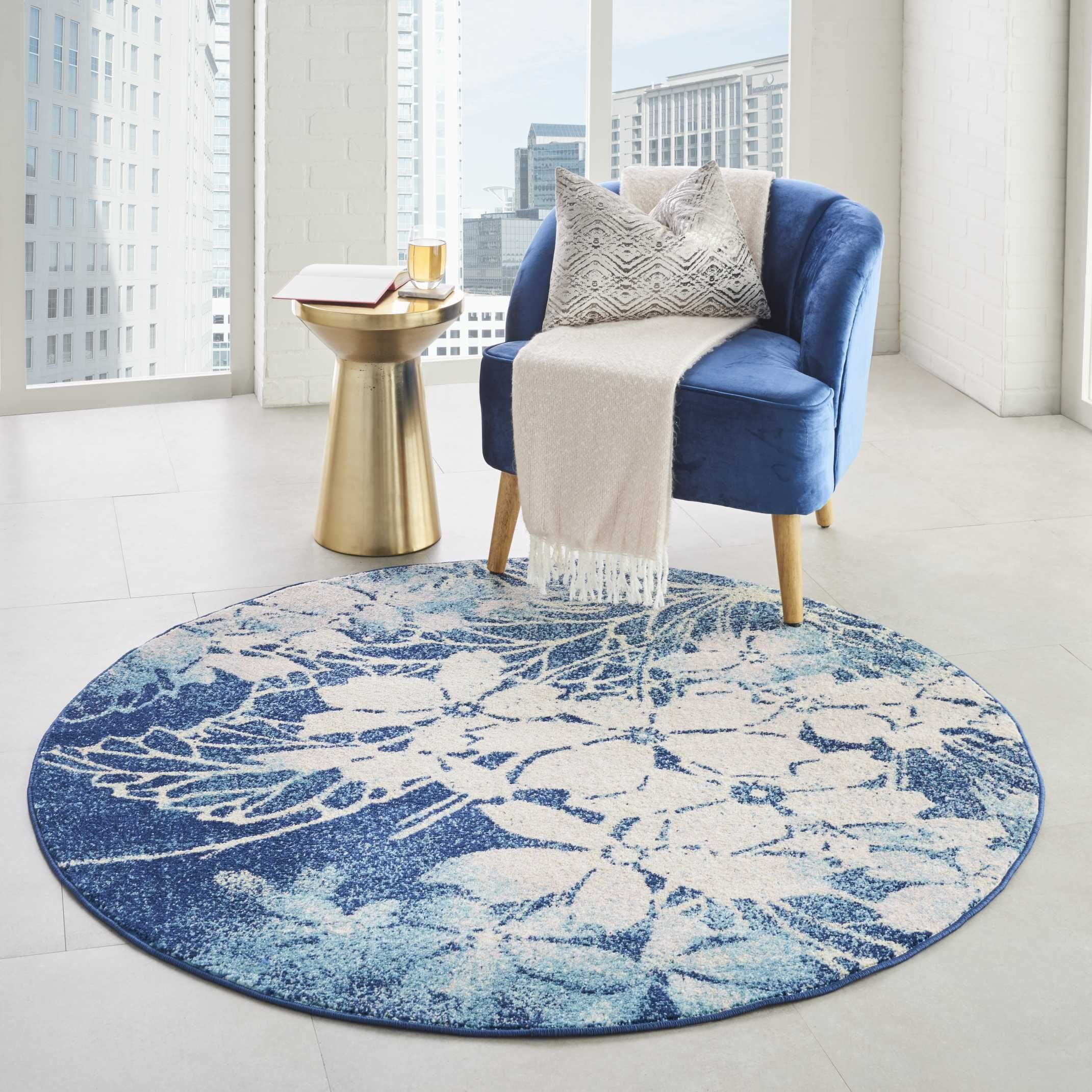 Tranquil Tra08 Navy Pink Area Rug Rug Shapes Area Rugs Indoor Area Rugs