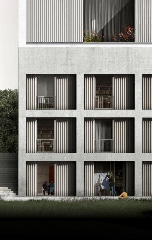 Atelierhäuser Rüschlikon #architektonischepräsentation