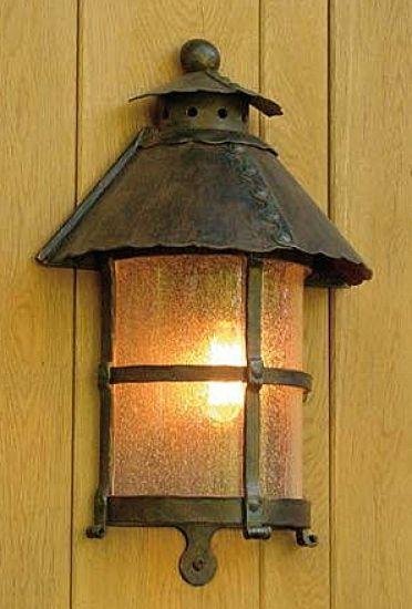 Robers Leuchten wrought iron half lantern wl 3459 by robers leuchten
