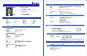 Contoh Resume Pdf Hazwani Pinterest Resume Resume Pdf And