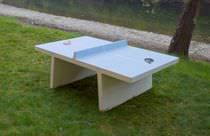 Table de ping-pong pour usage extérieur / pour espace public