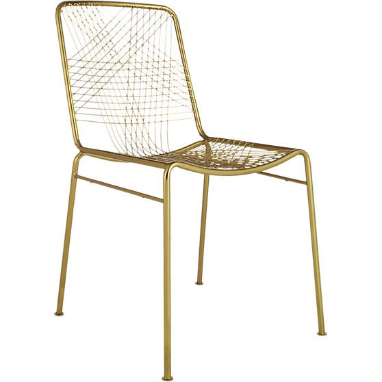 Alpha Brass Chair