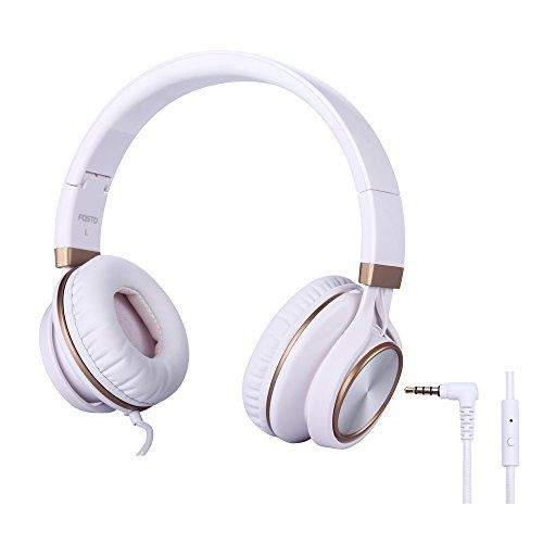 Headphones, FOSTO FT58 Stereo Folding Headset Strong Low ...