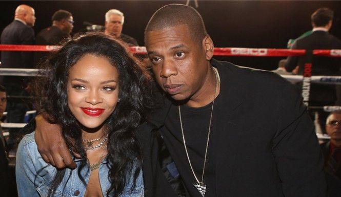 Magnificent Jay Z And Rihanna Have Been Getting Too Close According To The Hairstyle Inspiration Daily Dogsangcom