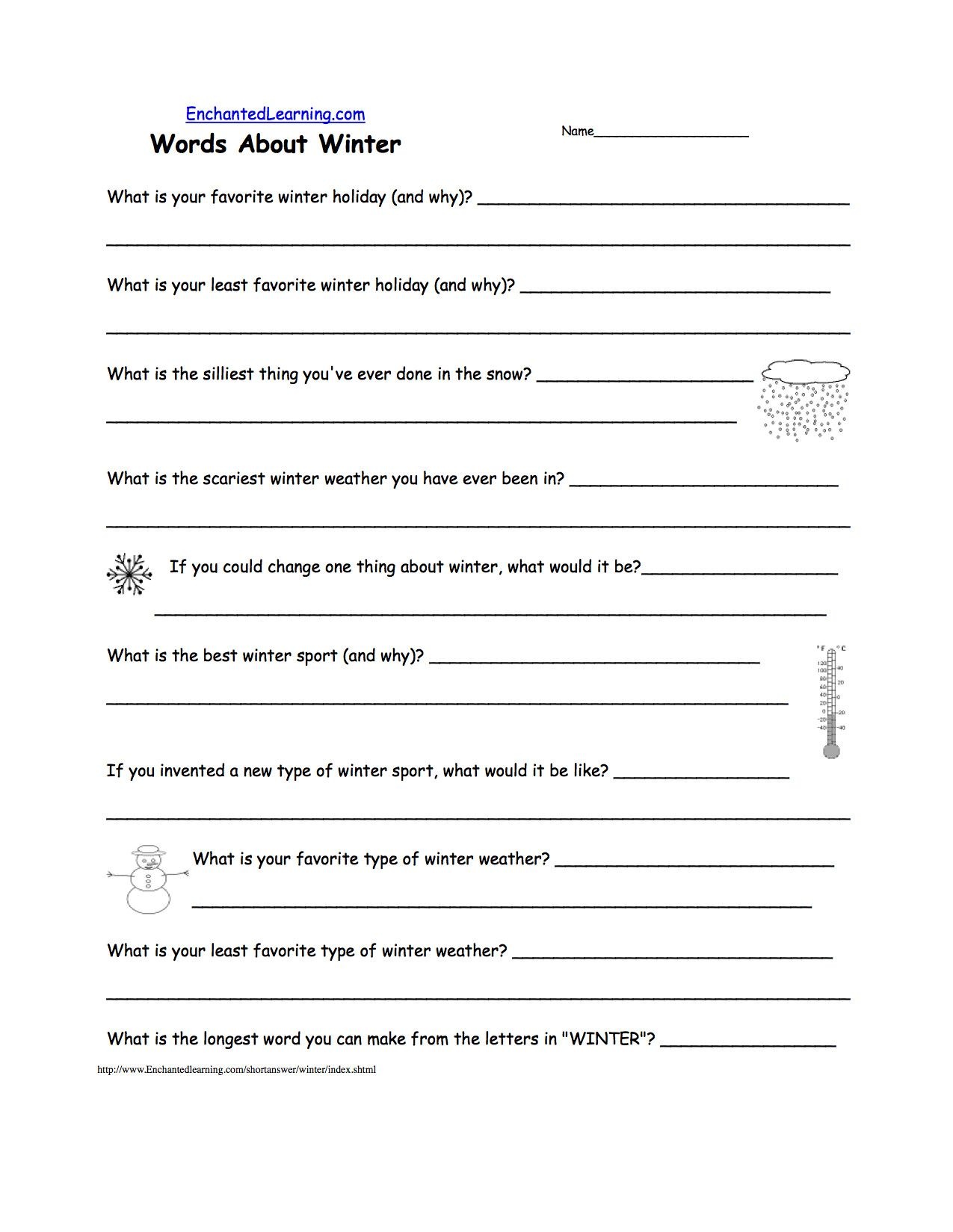 5 Preschool Worksheets Weather Weather Preschool