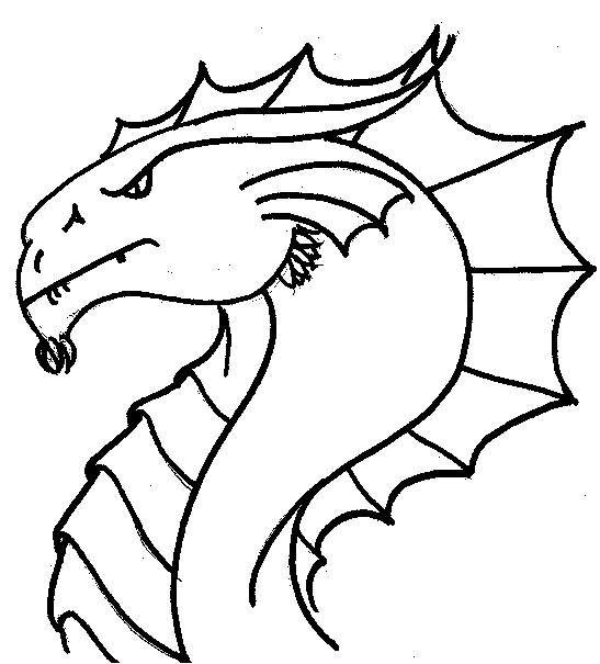 99 Views Dragon Coloring Page Dragon Head Drawing Drawings