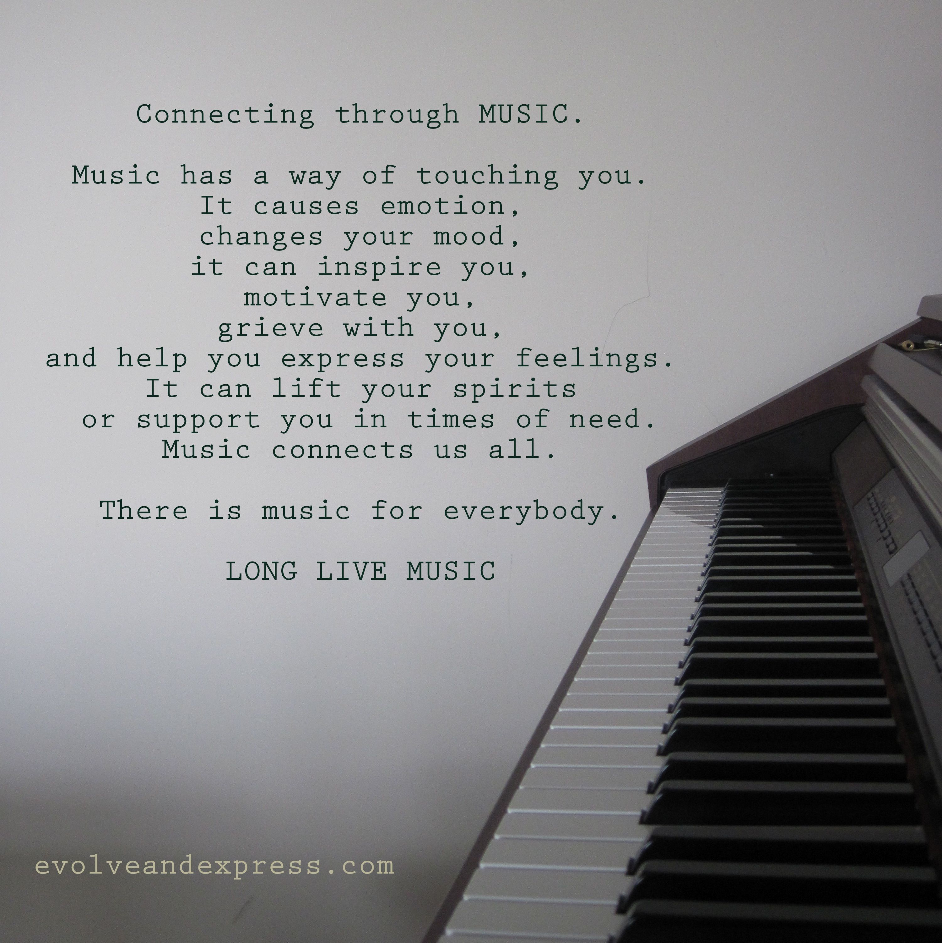 Short Inspirational Quotes About Music Piano Inspiration