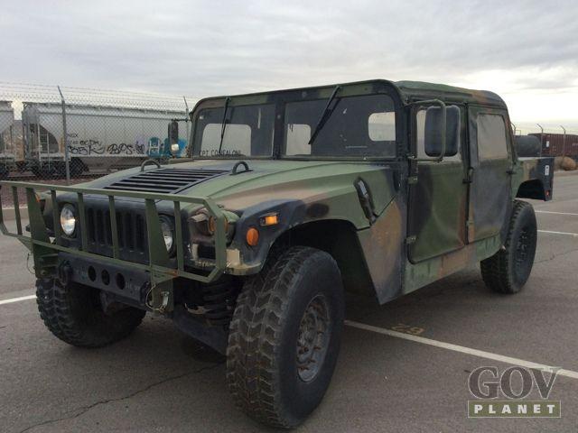 Surplus 1990 Am General M998 Humvee Hmmwv In Barstow California