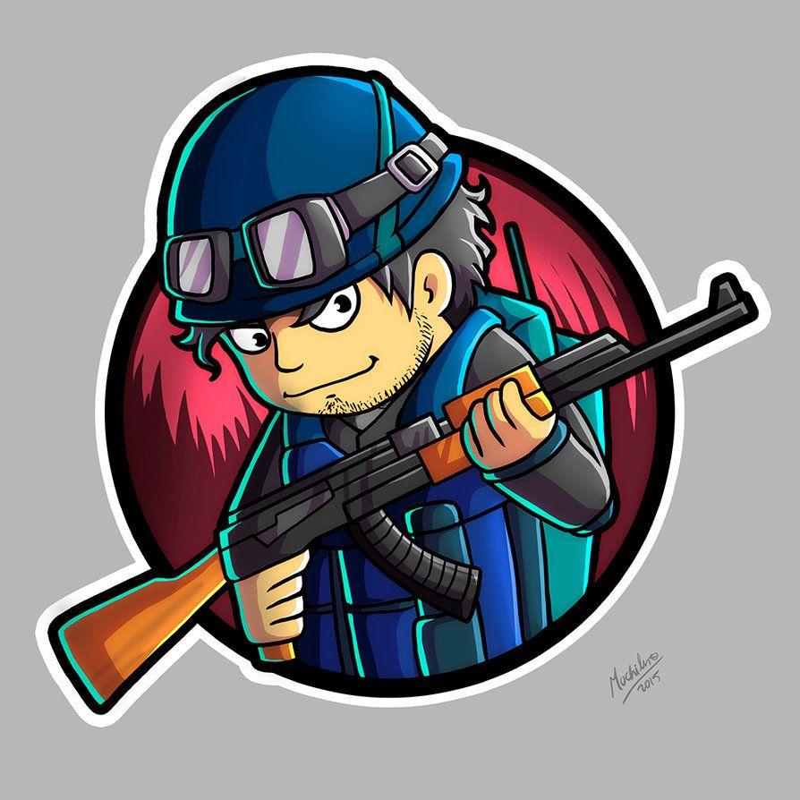 Stiker FanArt CSGO Comission by MochileroArt.deviantart