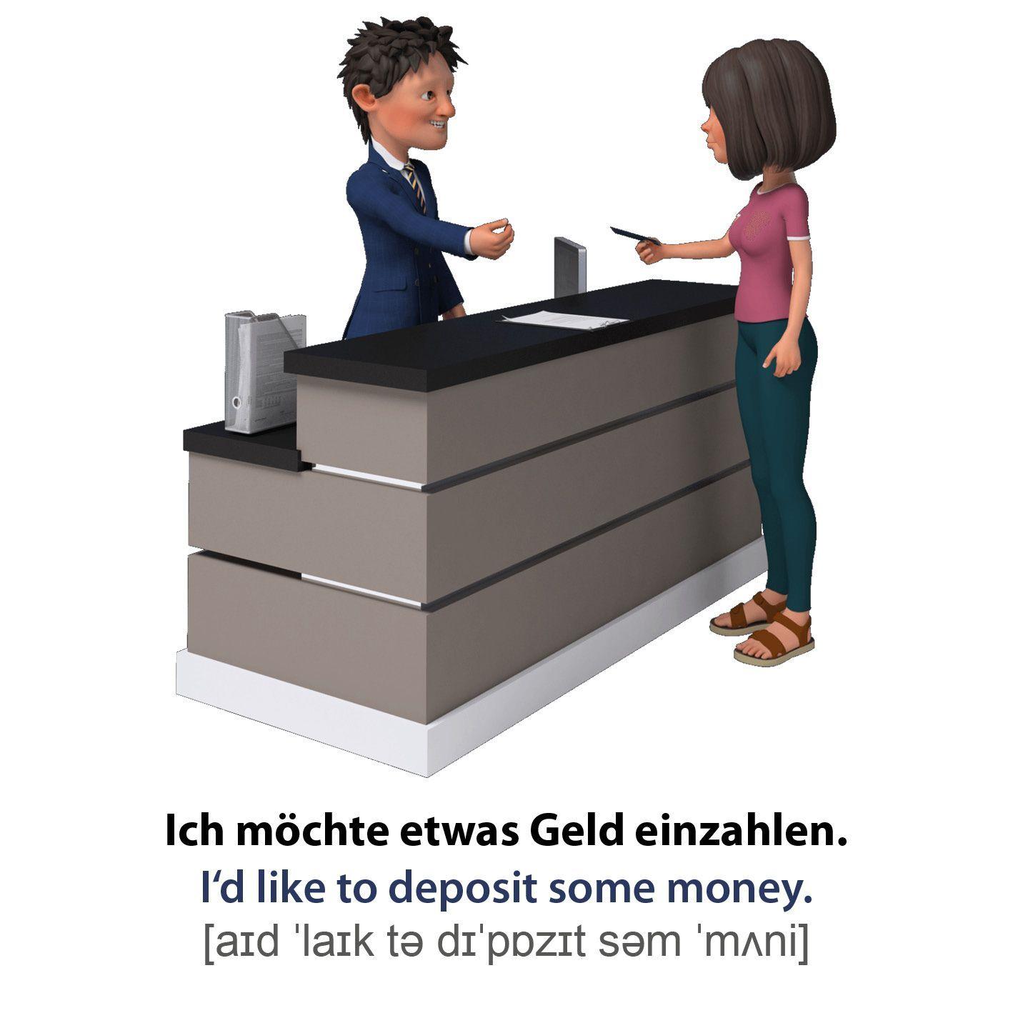 Geld Auf Englisch