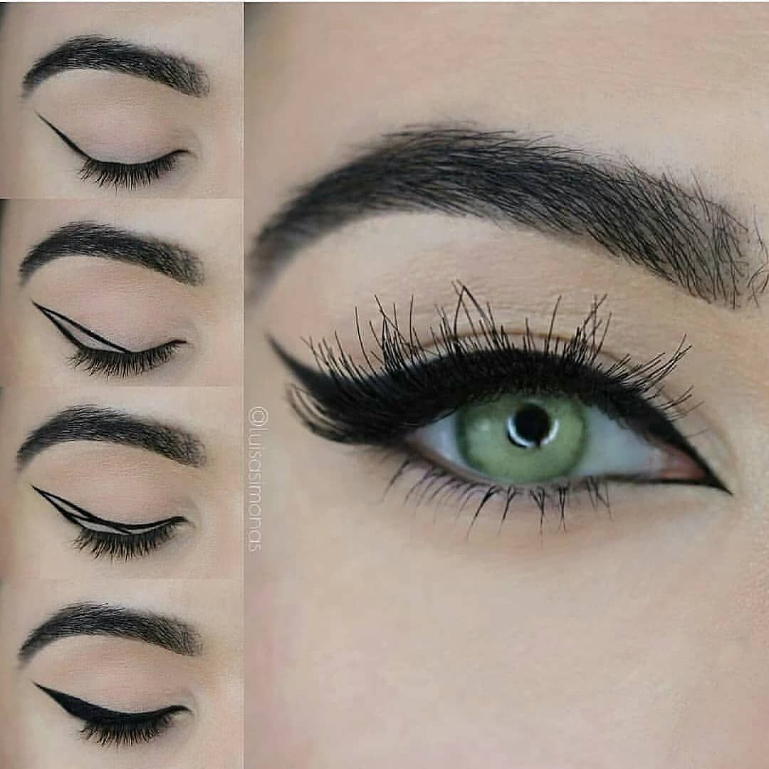 Photo of Wow Yay or nay?…. – @luisa_simona . Huda Beauty Samantha lashes Eyeko Eyeliner…