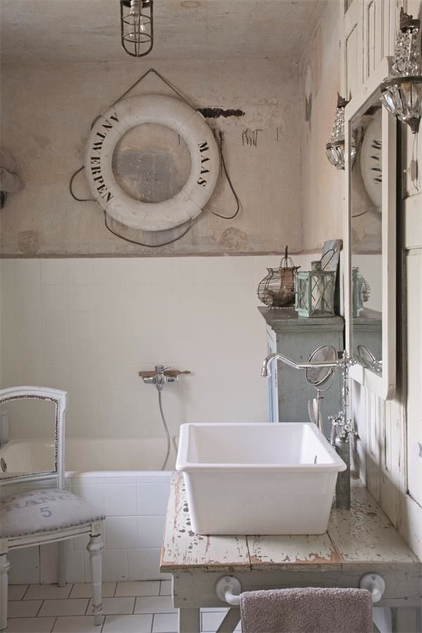 Gastebad Wohn Holzideen Bathroom Shabby Chic Und Nautical Bathrooms