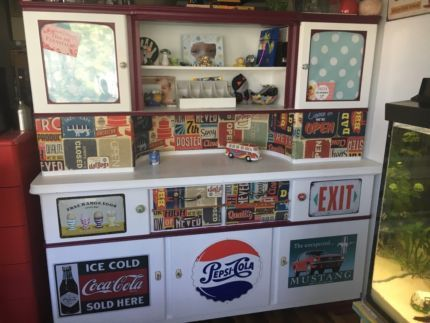 Buffet Anrichte American Diner Style eBay Kleinanzeigen Küche
