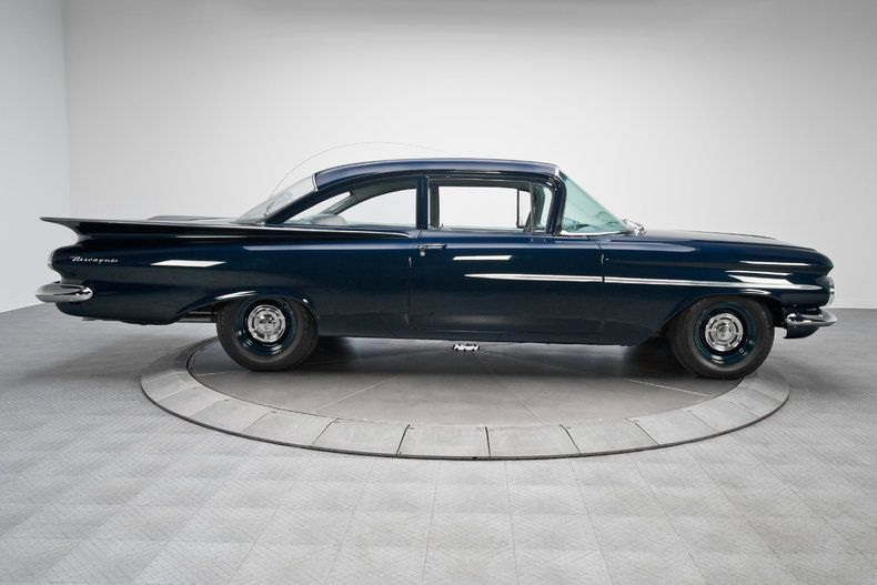 1959 Chevrolet Biscayne 2 Door Sedan Chevrolet Classic Cars Biscayne