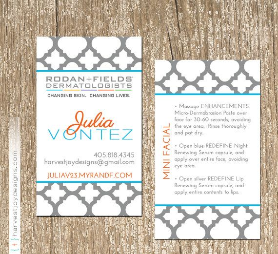Rodan and fields business card modern gray quatrefoil by rodan and fields business card modern gray quatrefoil by harvestjoydesigns colourmoves Image collections