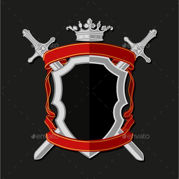 Coat Of Arms  FontsLogosIcons    Flat Style Arms