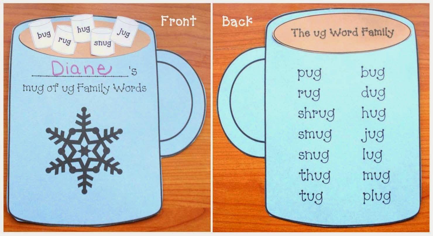Ug Word Family Mug Packet With Images