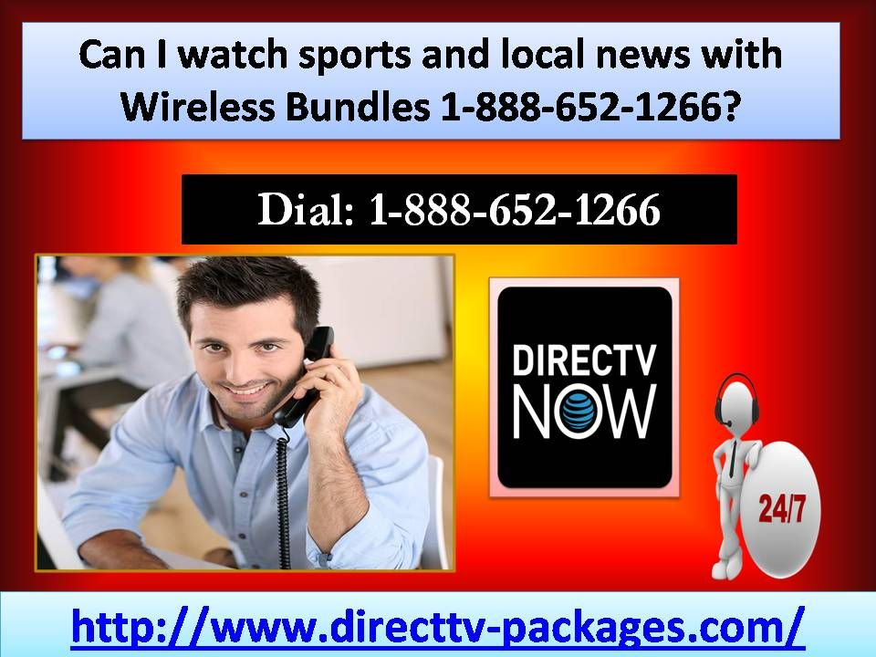 Can I watch sports and local news with Wireless Bundles 1