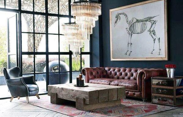 100 Bachelor Pad Living Room Ideas For Men Masculine Designs Chesterfield Living Room Bachelor Pad Living Room Interior Design
