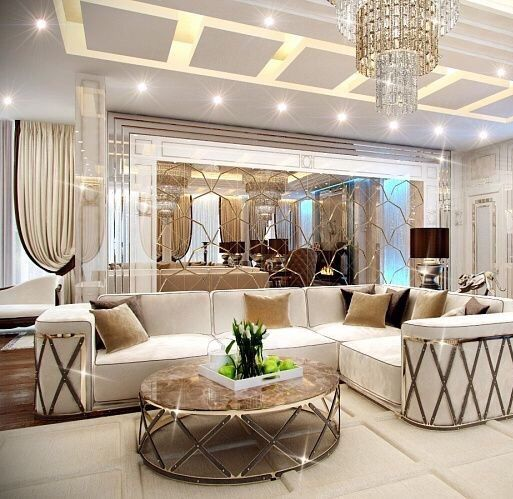 Luxury Living Room Interior Design Ideas: The Latest Luxurious Trends For Your Home Decoration