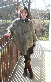 Ravelry Martha Stewart Coming Home Poncho Plus Size Crochet
