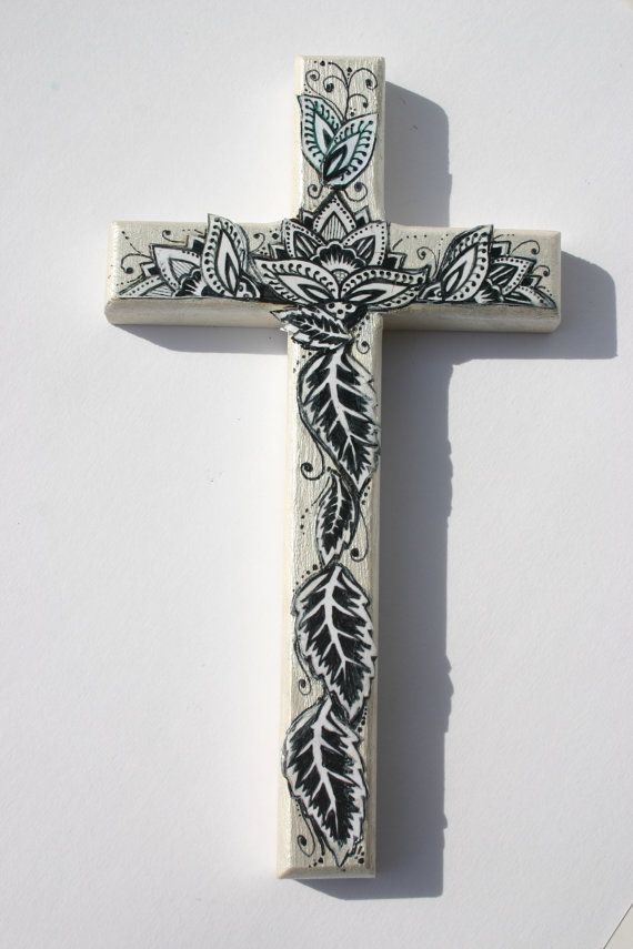 Decorative Wood Cross 8\