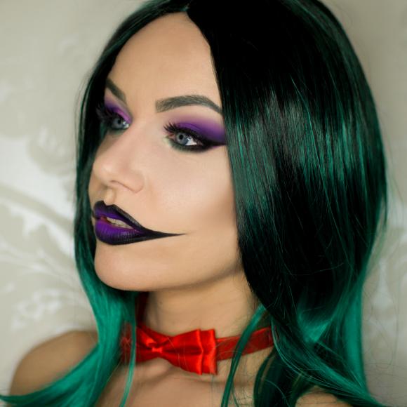 Pinky The Clown Makeup Tutorial Makeup Geek Halloween Makeup Pretty Joker Halloween Makeup Girl Joker Makeup