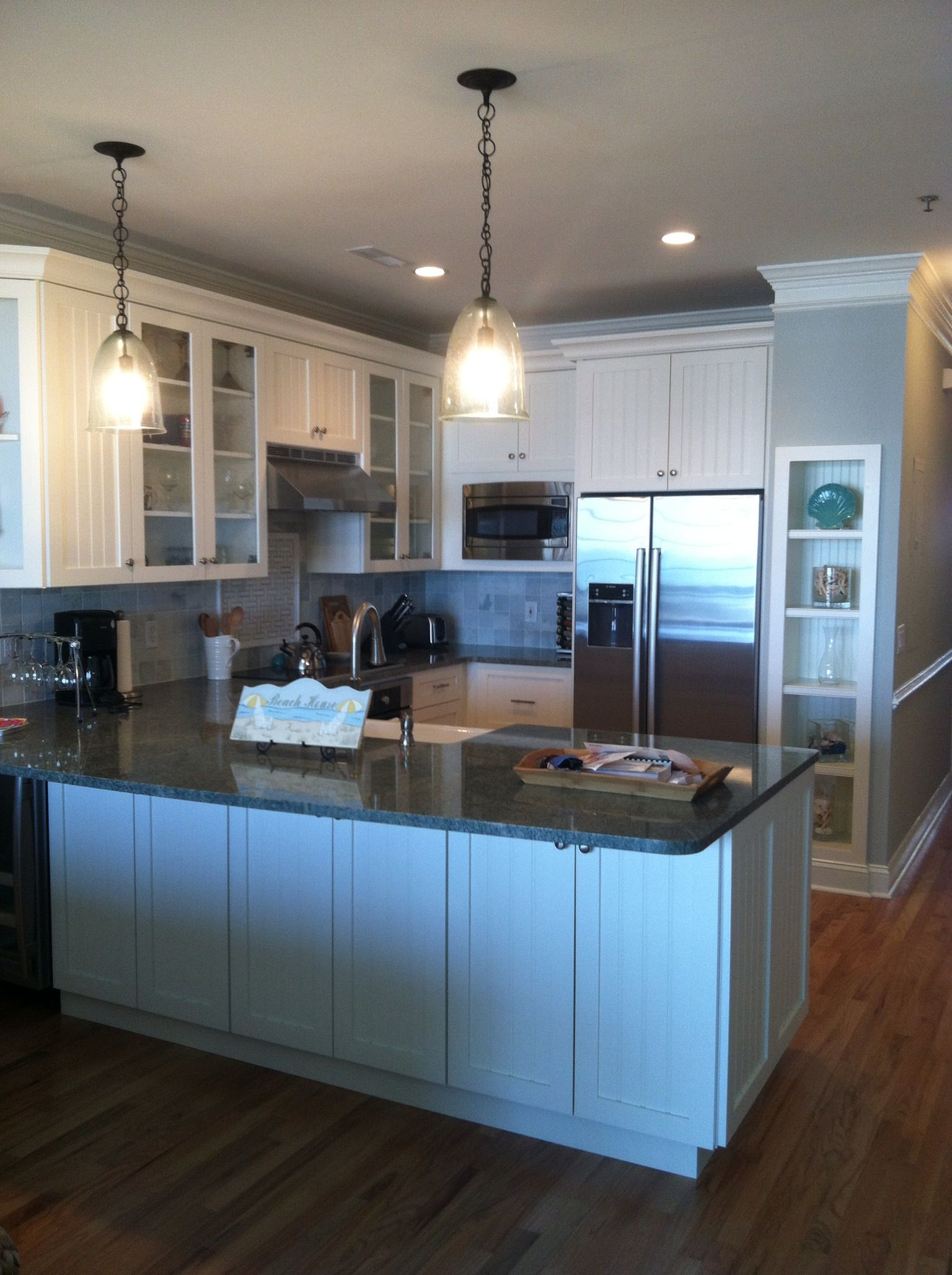 Folly Beach House Kitchen Riverside Designers Charleston Sc