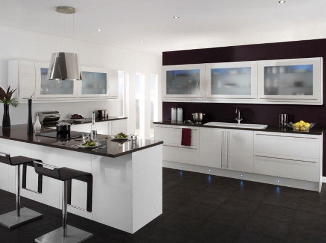 9 Modern Monochrome Kitchen Interior Design With A Black And White ...