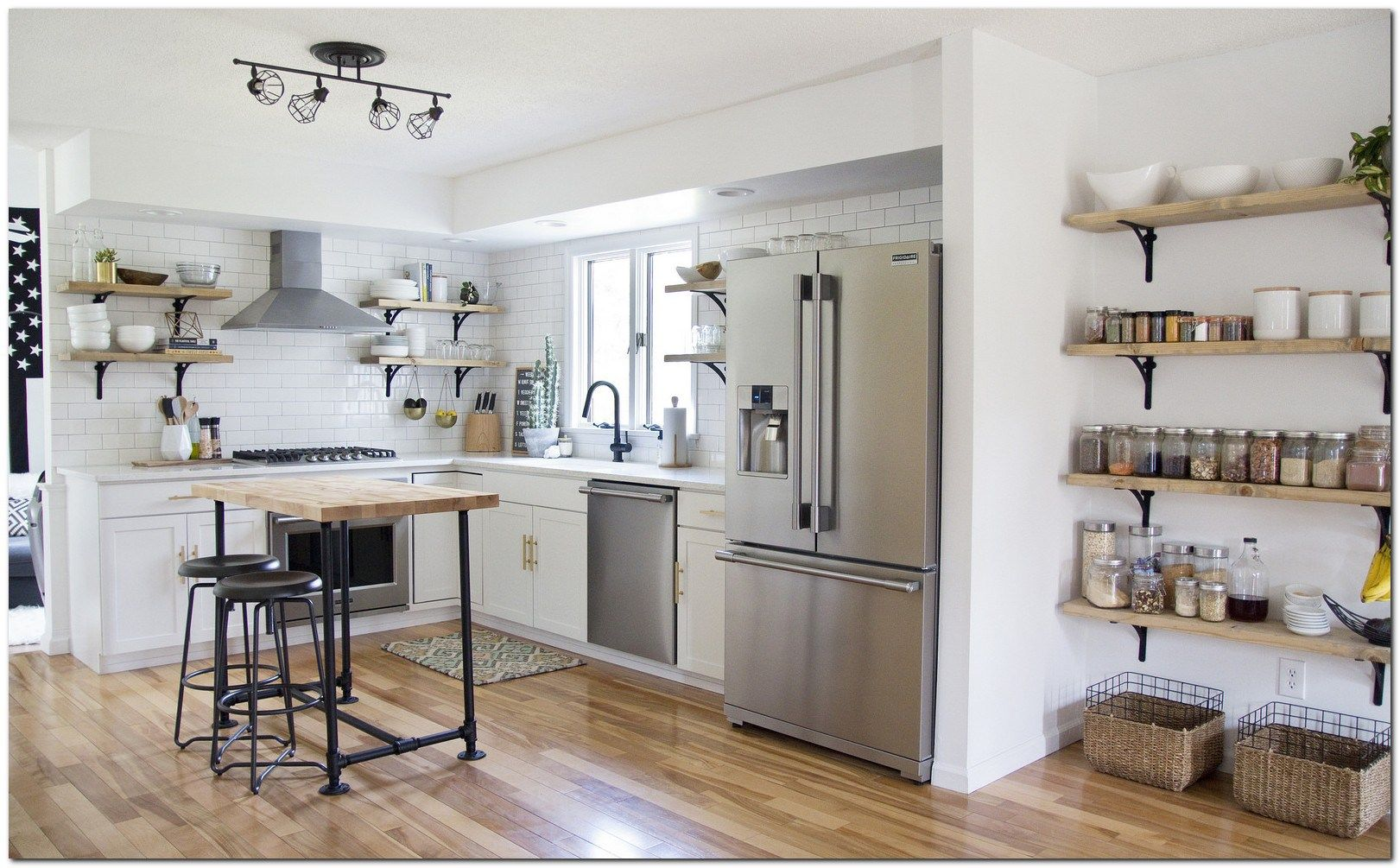 50 Modern Open Shelf Kitchen Ideas The Urban Interior Open
