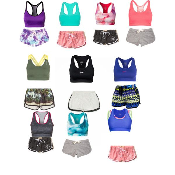 Cute Workout outfits, an outfit i made on polyvore