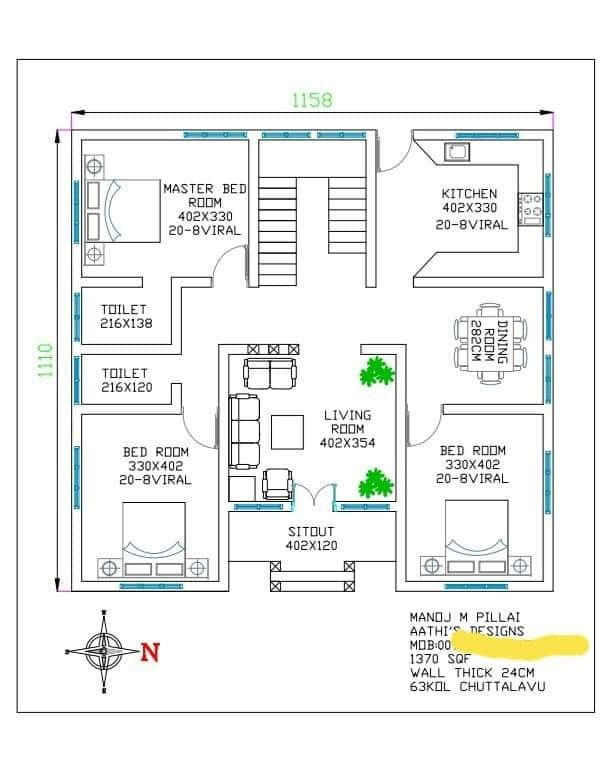 I Think It S Best Economical Plan For 3bhk Indian House Plans 2bhk House Plan Free House Plans