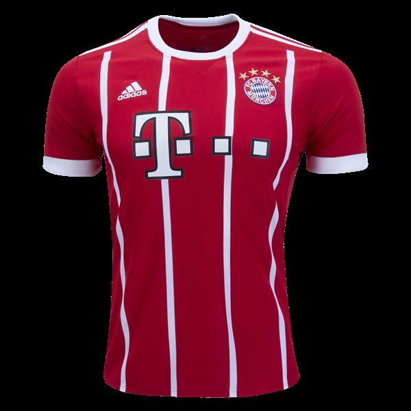 adidas Bayern Munich Home Jersey 17/18 | SOCCER.COM