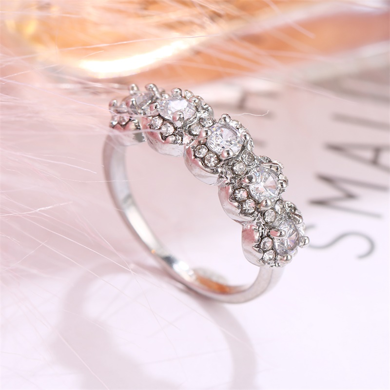 Fashion Luxury Silver Cz Women S Wedding Ring 2020 White Aaa