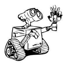 WALL E Glasses Coloring Page You Can Print Out This And Color It With Your Kids Free Pages
