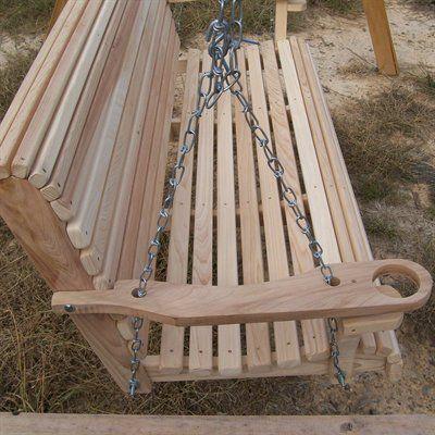 La Cypress Swings Crs Regular Porch Swing Porch Swing Patio Swing Wood Swing