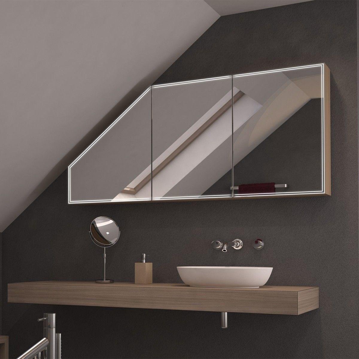 Spiegelschrank Mit Schrage Mini Duplex Jetzt Bestellen Unter Https Moebel Ladendirekt De Bad Badmoeb Spiegelschrank Badspiegelschrank Badezimmer Dachschrage