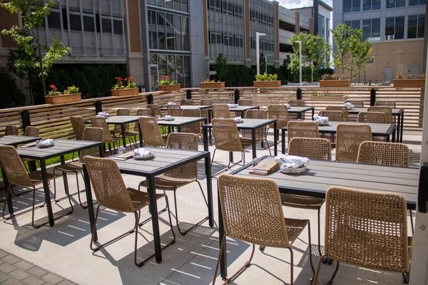 Custom Restaurant Furniture Design Trends Rooftop Dining