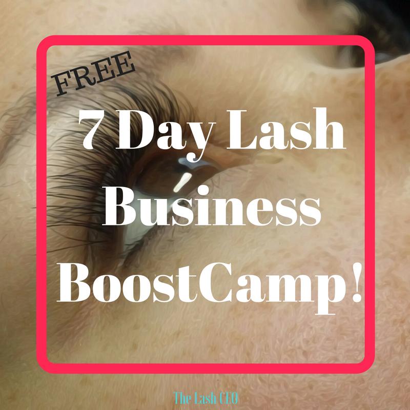 lash extensions business, new lash clients, attract lash