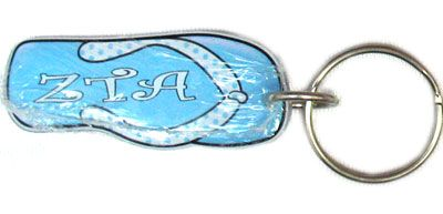 Zeta Tau Alpha Sorority Flip-Flop Keychain #Greek #Sorority #Clothing #ZTA #ZetaTauAlpha #Zeta