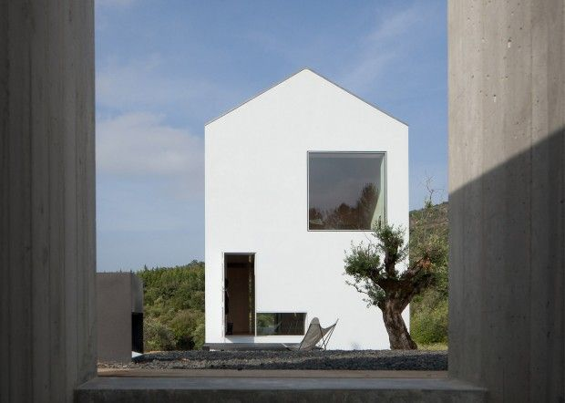 fonte boa house par jo o mendes ribeiro architectures ext rieures pinterest vignoble. Black Bedroom Furniture Sets. Home Design Ideas