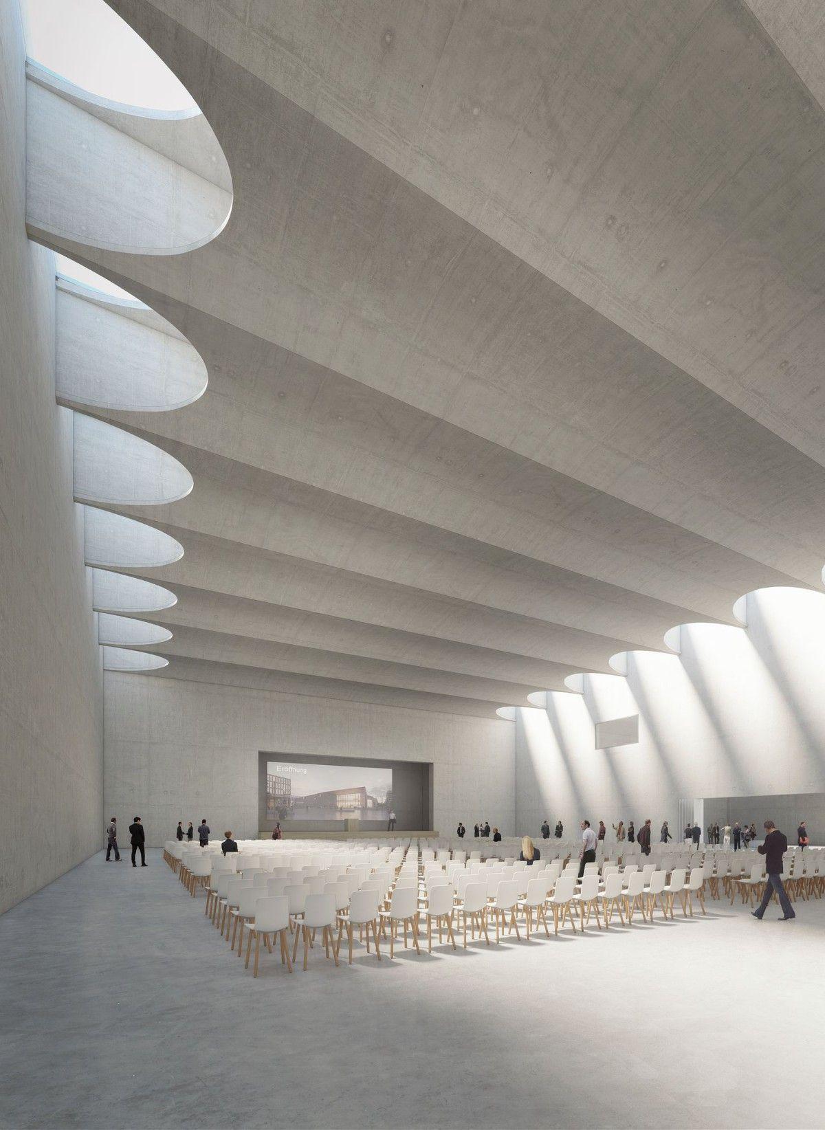 Architekten Heidelberg degelo architekten convention center heidelberg 3 interior