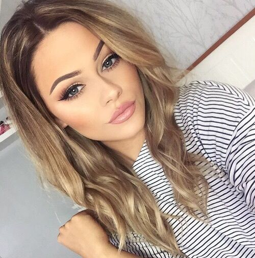 Pin By Alexia Natalia On Makeup Looks Light Brown Hair
