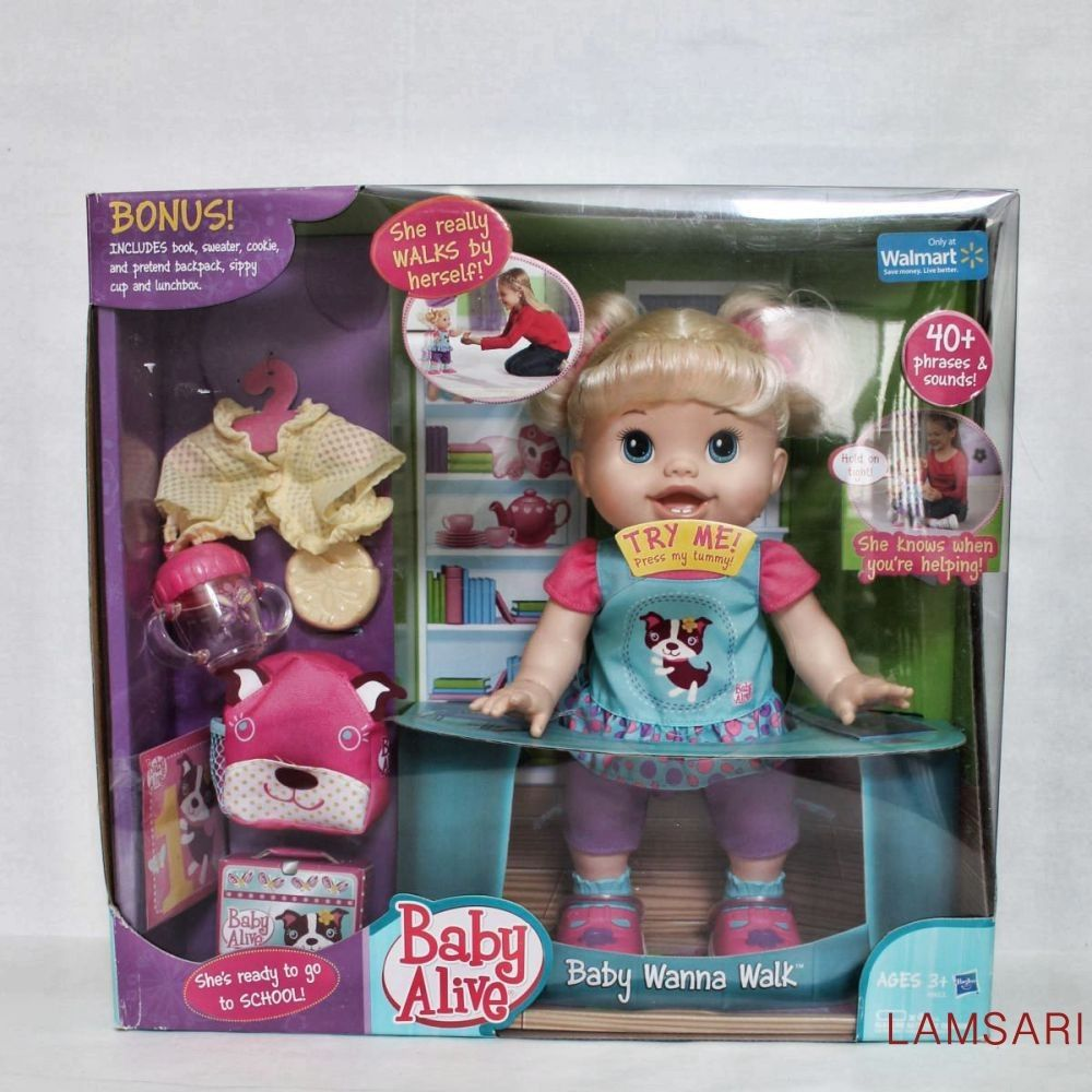 Baby Wanna Walk Baby Alive Baby Alive Dolls Baby Learning