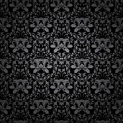 Gothic Pattern Wallpaper 7478812-seamless-gothic-ornamental-wallpaper-floral-pattern